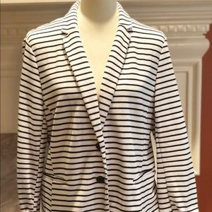 Old Navy spring/summer jacket navy & white XL